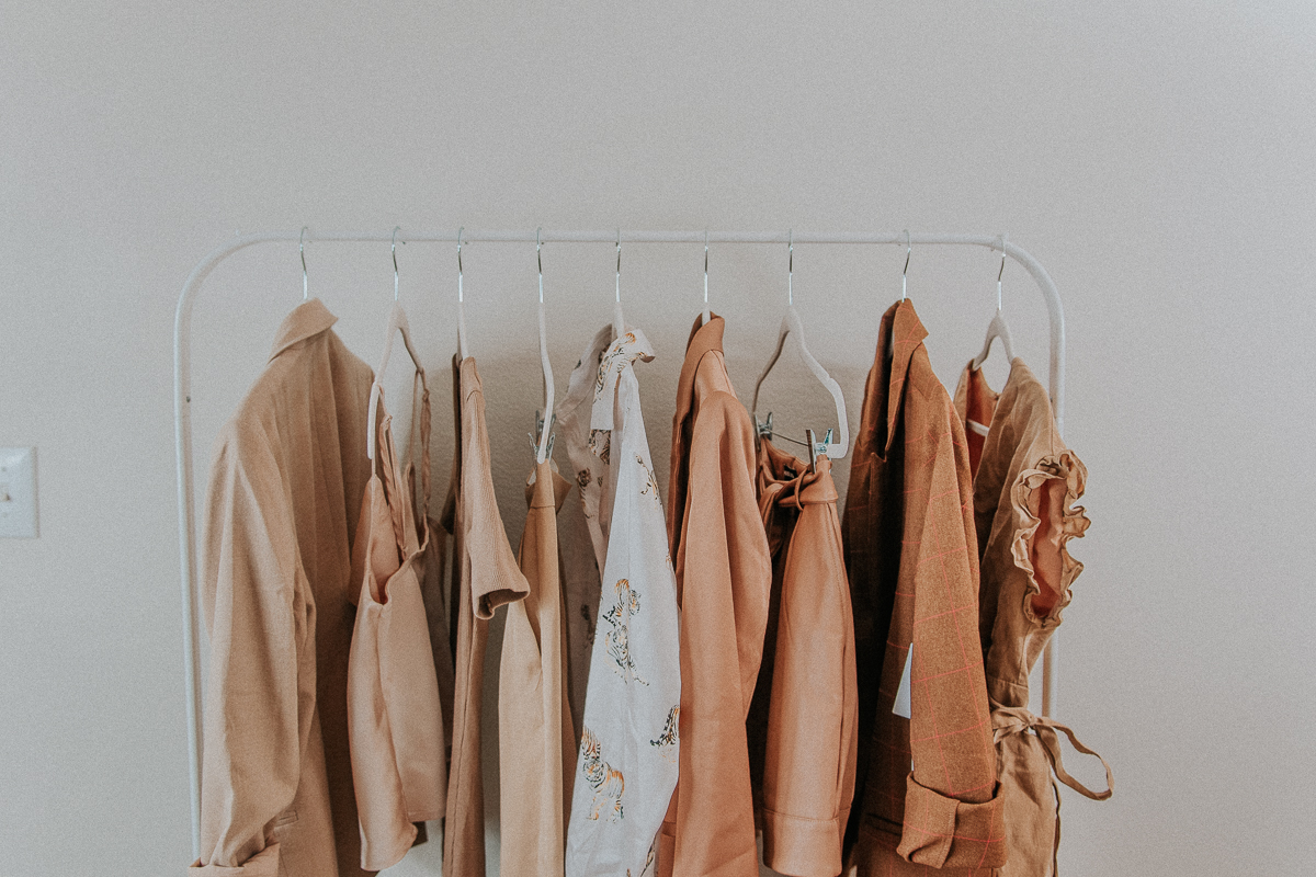Creating a Clothes Rack Style