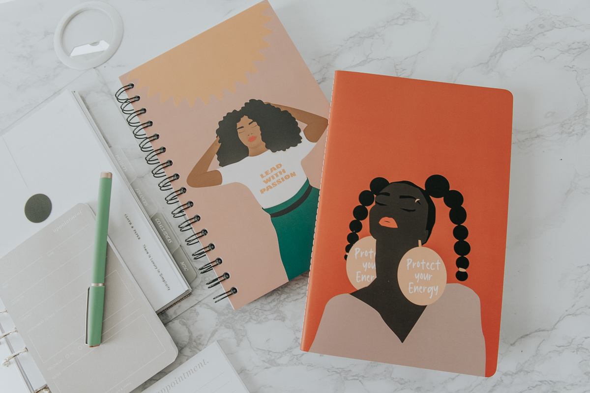 Be Rooted Illustration Spiral Notebooks